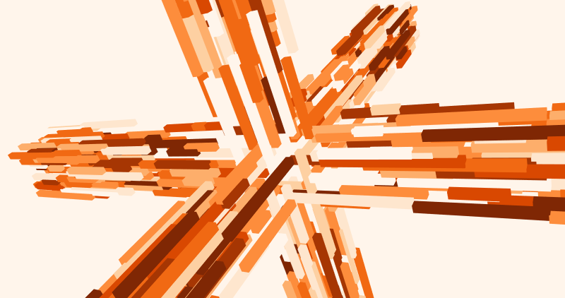 Cubes, Processing.